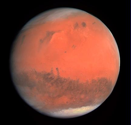 Wat eten we op Mars?